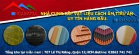 Vật liệu cách âm,tiêu âm Hoàng Gia 0938 808 900